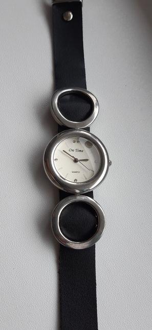 """Ceas """"On time"""" damă,curea piele"""