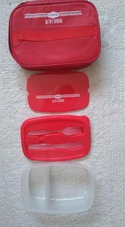 Кутия за хранене с термоизолиращ калъф