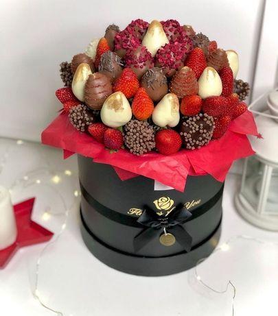 Клубника в бельгийском шоколаде райское наслаждение