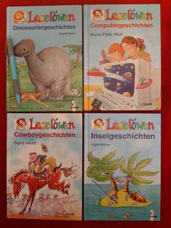 Vand carti in limba germana pt copii Leselowen  primele clase