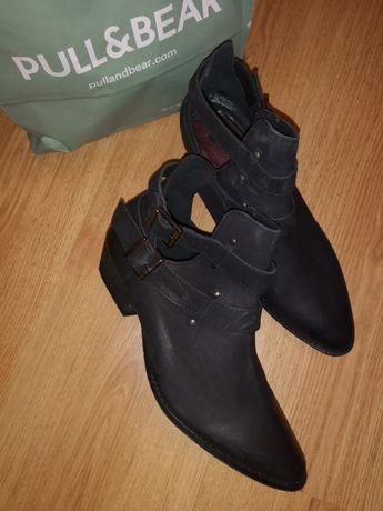 Нови обувки от естествена кожа