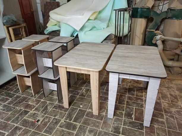 Продам новые столы с табуретками