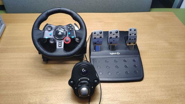 Игровой руль Logitech g29