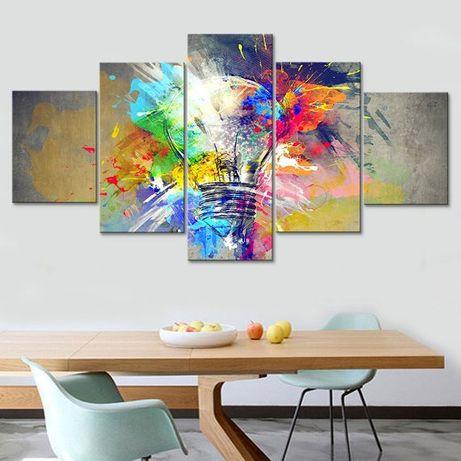 Tablou Multicanvas 5 / 4 / 3 piese Set tablouri canvas la comanda