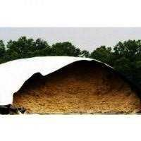 Folie alb negru protectie siloz/porumb/fin/cereale / prelata Politiv