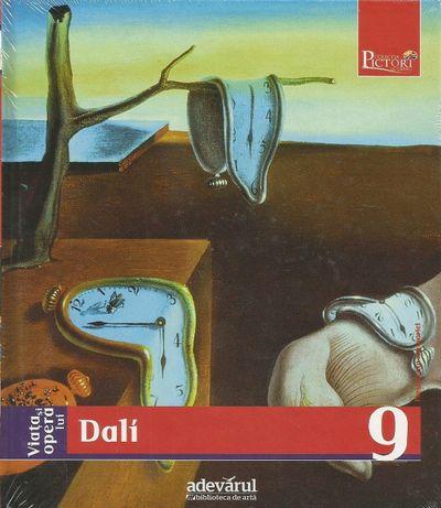 Super carte album de pictura DALI, din seria Pictori de Geniu Adevarul