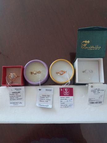 Ювелирные украшения: кольца из золота и серебра