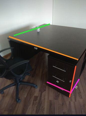 Офисный сдвоенный стол