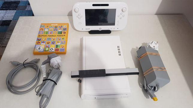 Consola Wii U + tableta + joc , si toate cablurile