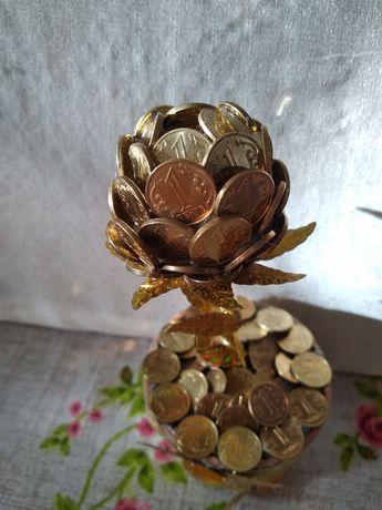 Продам денежное дерево, ручная работа, необычный подарок.