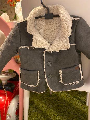 Топло зимно палто за дете от година и половина до две и половина