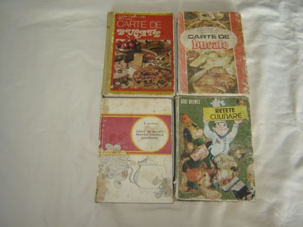 Carti de bucate vechi perioada comunista