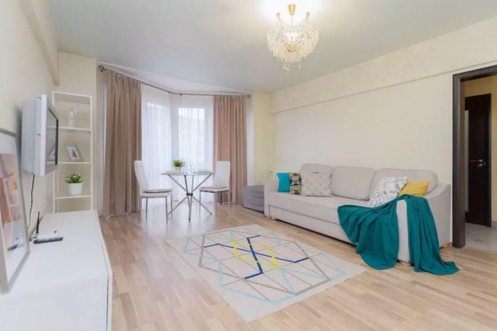 Двухкомнатная квартира рядом с ТРЦ МЕГА и Атакентом в Жилом Комплексе