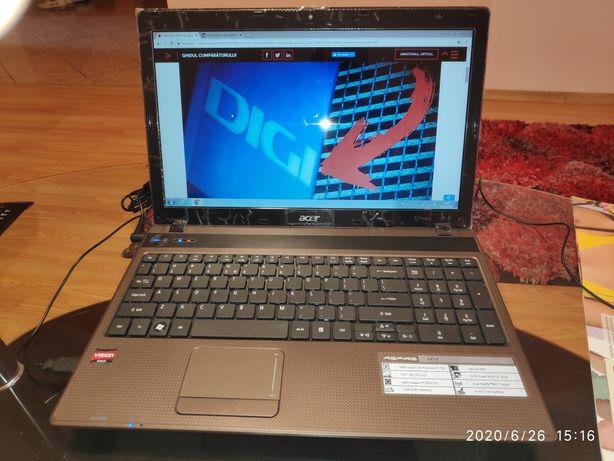 Vand laptop ACER ASPIRE 5253, in stare nouă, nefolosit.