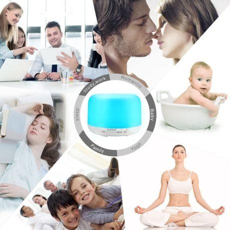 Difuzor Aromaterapie, Umidificator cu Ultrasunete, Lampa de veghe