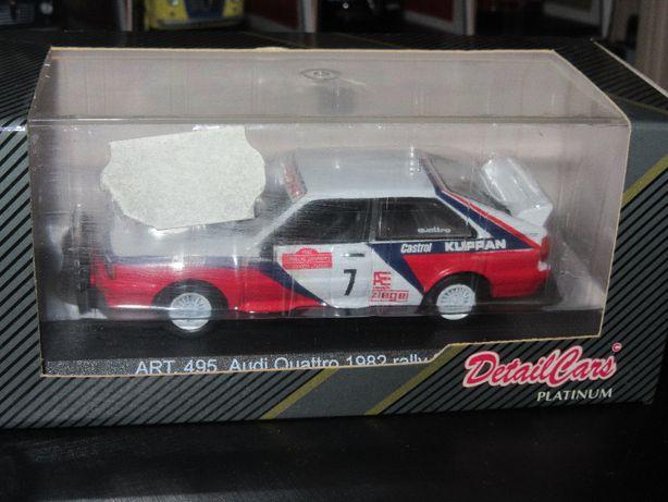 Macheta Audi Quattro 1982 Detail Cars 1:43