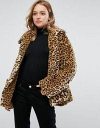 Haina Blana Asos animal print- transport gratuit