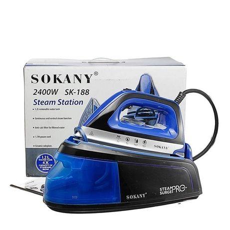 Гладильная станция с парогенератором SOKANY Steam Surge PRO SK - 188