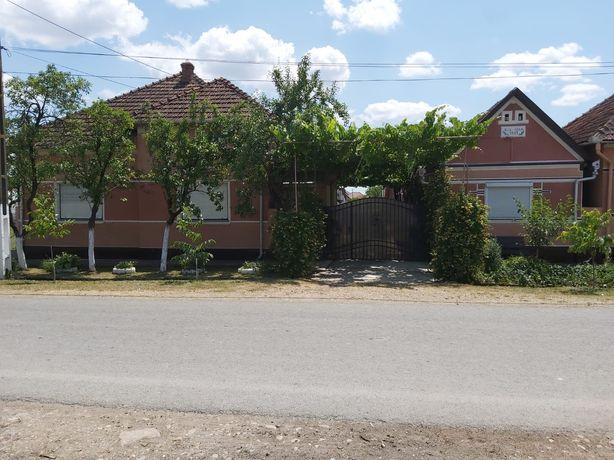 Vând casa cu gradina Apateu jud Arad