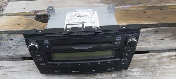 CD радио за Тойота Авенсис Т27 / Toyota Avensis t27