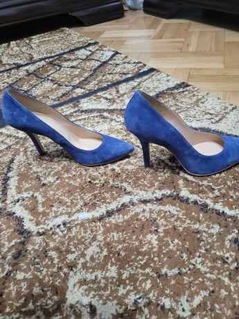 Pantofi piele Bata 38 / 39 (gen Musette)