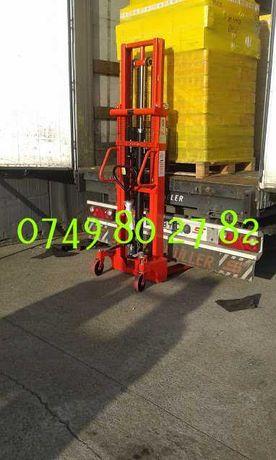 transpalet cu catarg stivuitor manual 1 tone 1.5 tone 2 tone