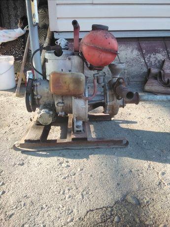 Мотопомпа-бинзиновый водяной насос
