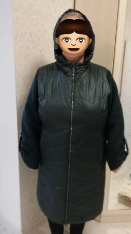 Продаю куртку пальто 58 размер