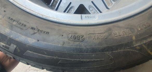 Продавам гума с джанта 205/55R16 4х100