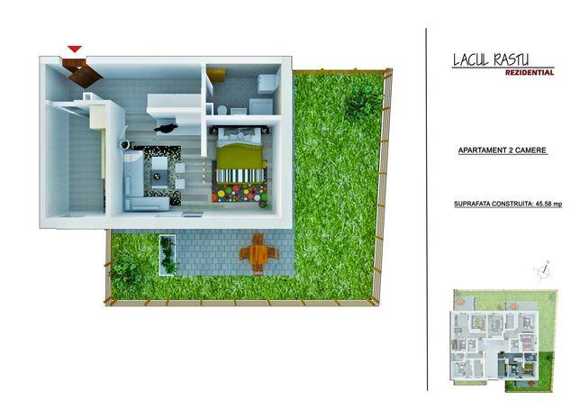 Apartament-Studio Toporasi-Giurgiului