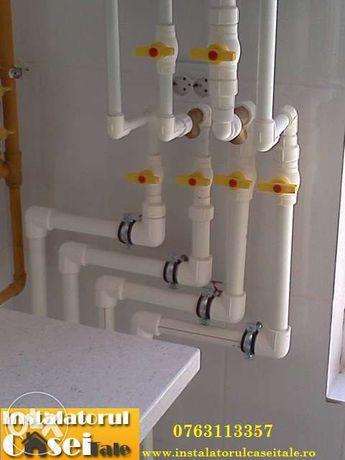 Instalator sanitare, termice, carotare beton, caramida, BCA