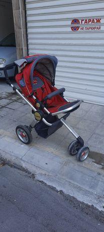 3 колесна Бебешка количка
