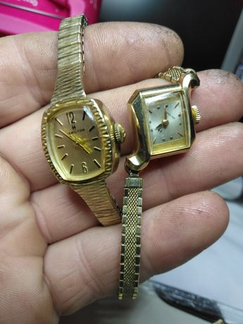 Vând doua ceasuri Hamilton originale