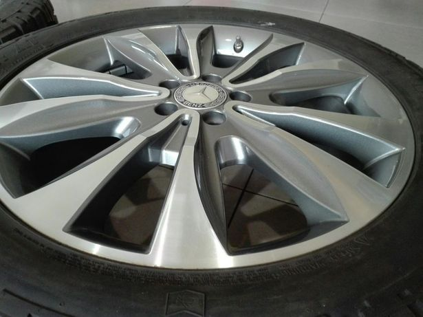 """Jante originale Mercedes ML, GL, W166, 20"""" cu anvelope all terrain."""