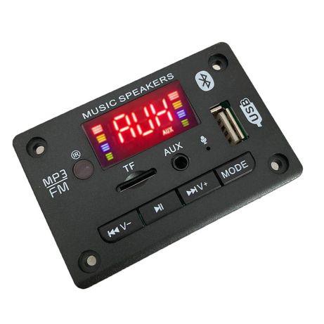 Mp3 player модул за вграждане 5V/12V AIYIMA BT 5.0/TF/USB/AUX/FM/MIC