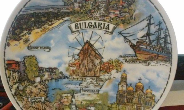 Decoratiune tip farfurie - Bulgaria