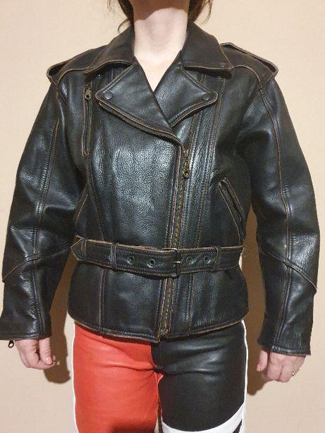 Geaca/ jaketa piele, moto, rocker, motor, motociclist, Guzzi, Choppar