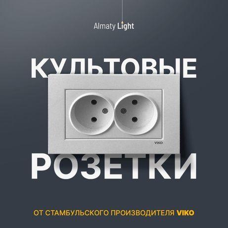 Розетки и выключатели Viko Karre