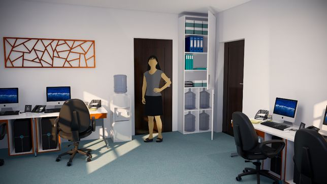 dulap depozitare corp sediu firma birou dormitor hol