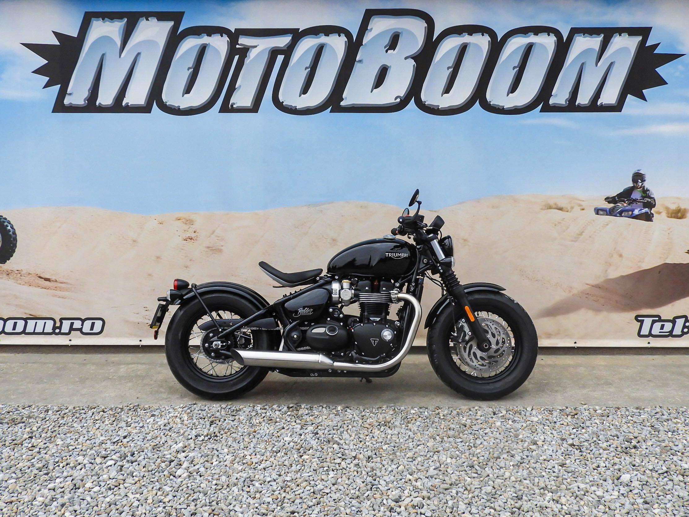 Motocicleta Triumph Bonneville Bobber 2021