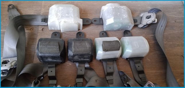 Продам оригинальные ремни безопасности на Mitsubishi Pajero 2