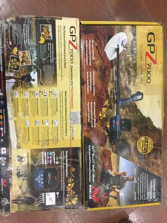Металлоискатель GPZ 7000