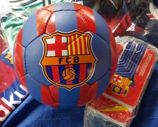 Топка + Екипче Барселона детско от 5 до 16г
