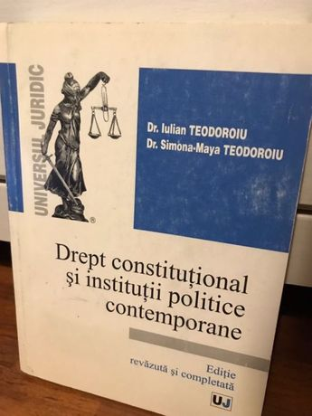 Drept constitutional si institutii politice contemporane